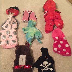Other - 8 dog outfits all size xs
